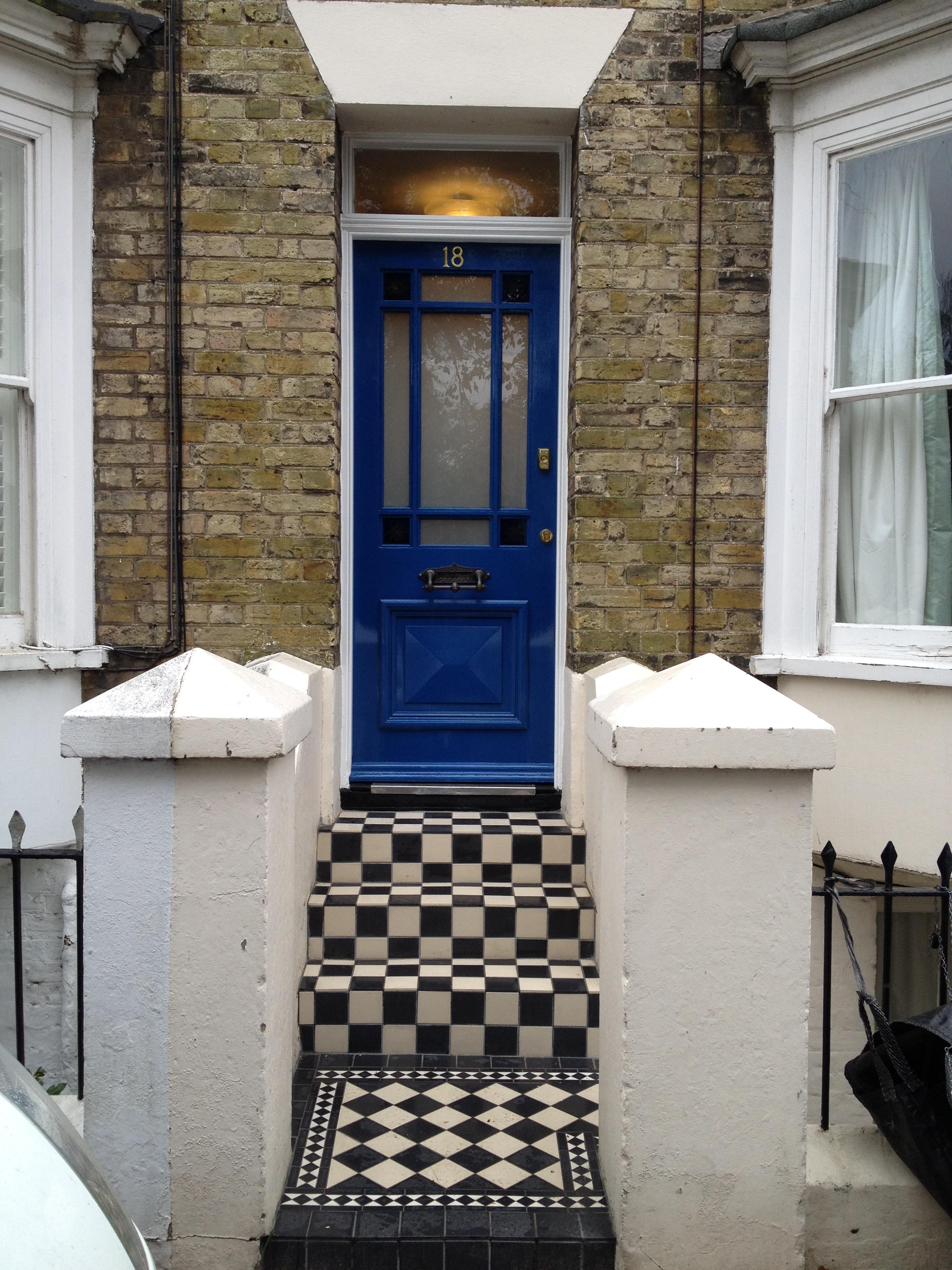 187 Period Front Door And Floor Tile S