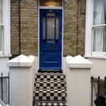 Period front door and floor tile?s - Period Property Renovation in Kent